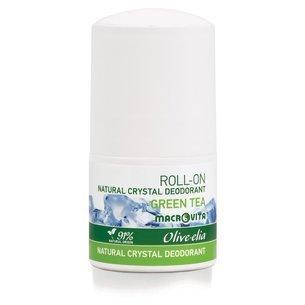 MACROVITA OLIVE-ELIA NATURAL CRYSTAL DEODORANT ROLL-ON GREEN TEA 50ml