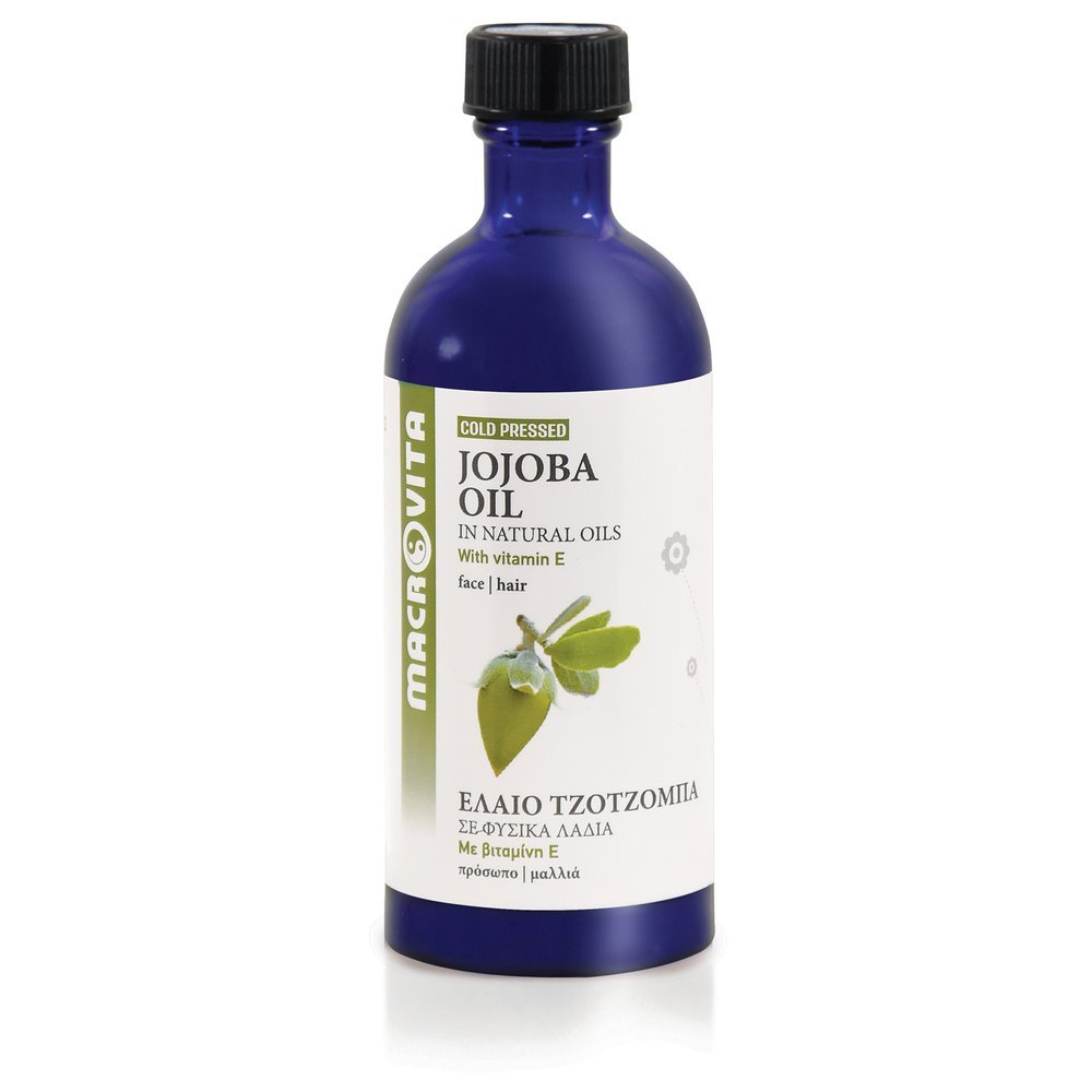 MACROVITA JOJOBA OIL in natural oils with vitamin E 100ml - the best  natural cosmetic available at www.MACROVITA.pl in category MACROVITA  Vegetable Cosmetic Oils. We recommend!