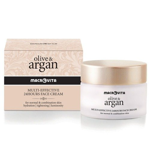 MACROVITA OLIVE & ARGAN MULTI-EFFECTIVE 24HOURS FACE CREAM normal - combination skin 50ml