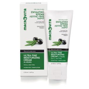 MACROVITA 24-Stunden ultrafeine Feuchtigkeitscreme mit Bio-Olivenöl & Aloe Vera 50ml