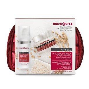 MACROVITA INTENSIVE+COMPLETE SET: Nachtcreme 40ml + Augencreme 30ml + Geschenktasche
