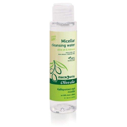 MACROVITA OLIVE-ELIA ΜICELLAR REINIGUNGSWASSER Olivenöl & Hibiskus 100ml