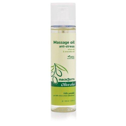 MACROVITA OLIVE-ELIA Massage Oil (anti-stress) olive oil & avocado oil 100ml