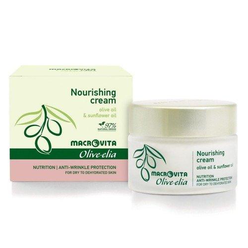 MACROVITA OLIVE-ELIA NOURISHING CREAM starknährende Pflegecreme mit Bio-Komponenten für trockene oder dehydrierte Haut 50ml