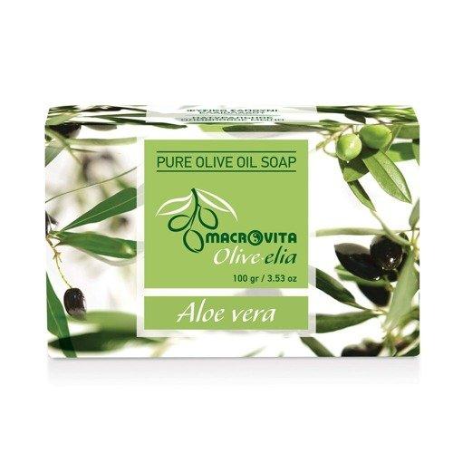 MACROVITA OLIVE-ELIA Seife mit reinem Olivenöl 100g ALOE VERA