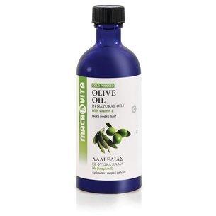 MACROVITA OLEJ Z OLIWEK w naturalnych olejach tłoczony na zimno z witaminą E 100ml