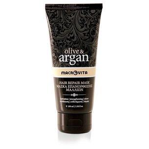 MACROVITA OLIVE & ARGAN naprawcza maska do włosów z olejkiem arganowym 100ml